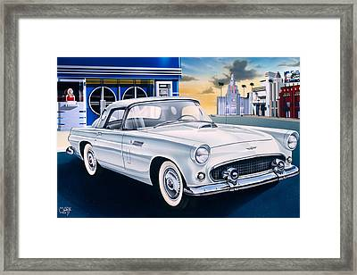 Heres Looking At You Kid Framed Print by Mark Watts