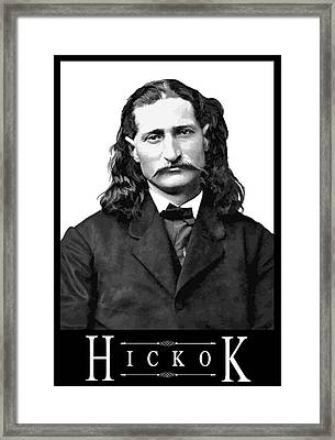 Hickok Framed Print by Daniel Hagerman