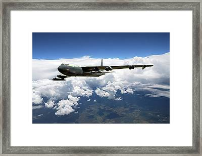 High And Mighty Framed Print by Peter Chilelli