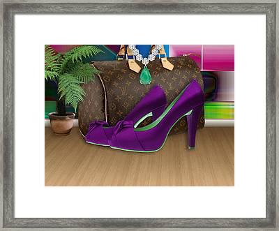 High Heel Shoes Framed Print