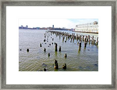 High Line Print 9 Framed Print by Terry Wallace
