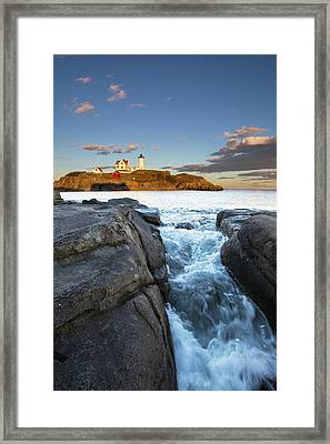 High Tide Framed Print by Mircea Costina Photography