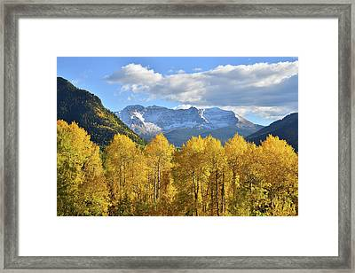 Framed Print featuring the photograph Highway 145 Colorado by Ray Mathis