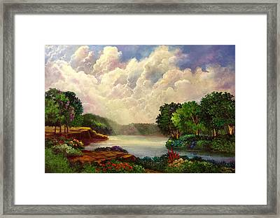 His Divine Creation Framed Print