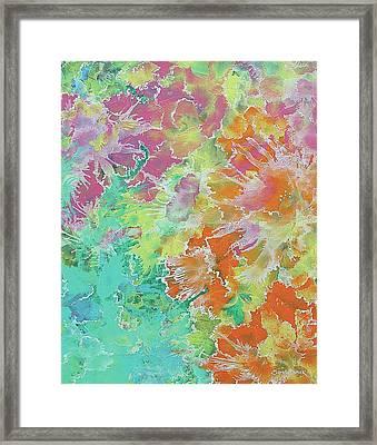 His Garden  Framed Print