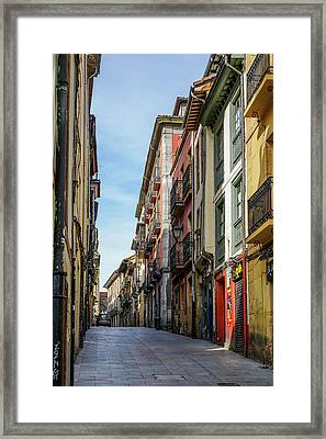 Historic Downtown Framed Print