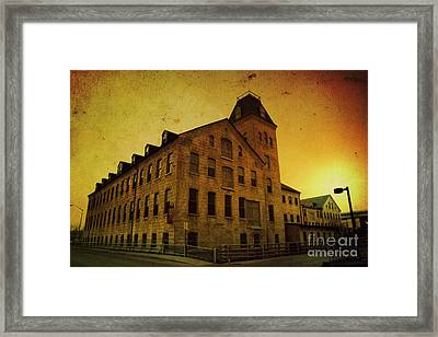 Historic Fox River Mills Framed Print