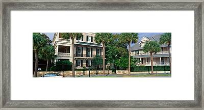 Historic Home On Battery Street Framed Print by Panoramic Images