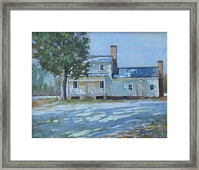 Hodge House C. 1811 Framed Print