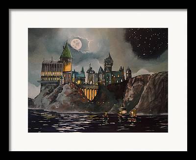Hogwarts Castle Framed Prints