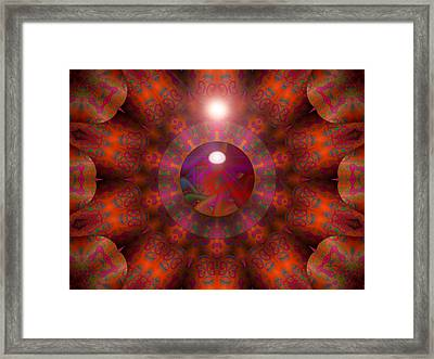Framed Print featuring the digital art Hold On by Robert Orinski