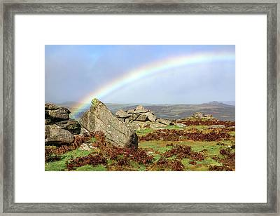 Holwell Tor - Dartmoor Framed Print