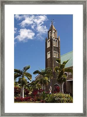 Holy Rosary Church Paia Maui Hawaii Framed Print