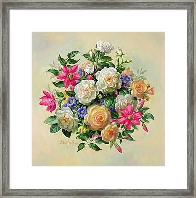 Homage To Her Majesty The Queen Mother Framed Print by Albert Williams