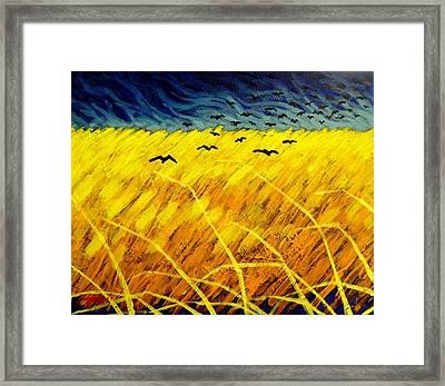 Homage To Vincent Framed Print