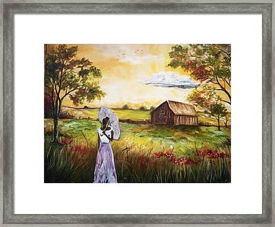Home Framed Print by Emery Franklin
