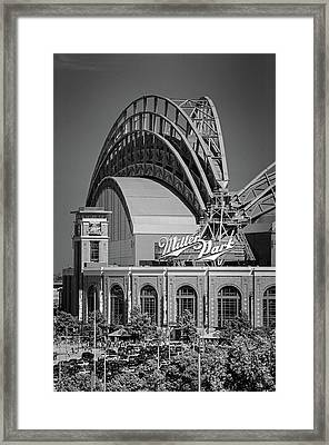 Home Of The Milwaukee Brewers Framed Print