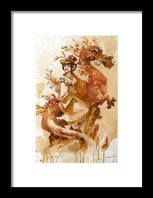 Dragon Framed Prints