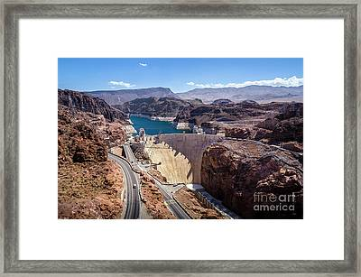 Hoover Dam Framed Print by RicardMN Photography