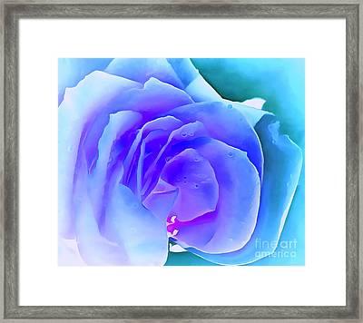 Hopeless Romantic Framed Print by Krissy Katsimbras