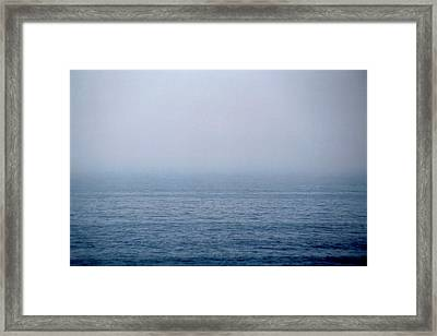 Horizontal Number 5 Framed Print by Sandra Gottlieb