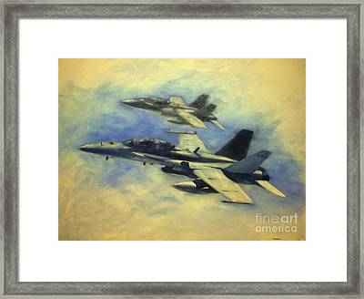 Hornets Framed Print by Stephen Roberson