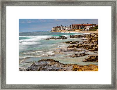 Horseshoe Beach Framed Print by Peter Tellone