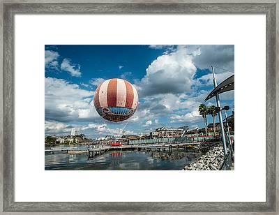 Hot Air Balloon Framed Print