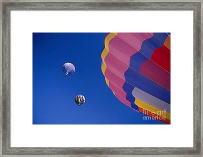 Hot Air Balloons Framed Print by Greg Vaughn - Printscapes