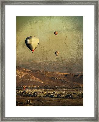 Going On A Magical Ride Framed Print
