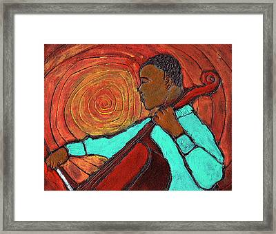 Hot Jazz Framed Print