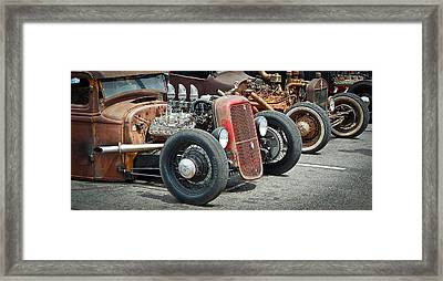 Hot Rods Framed Print by Steve McKinzie