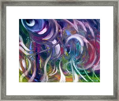 Hot Summer Framed Print by Kathy Dueker