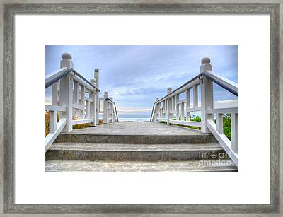 Hotel Del Coronado Framed Print by Kelly Wade