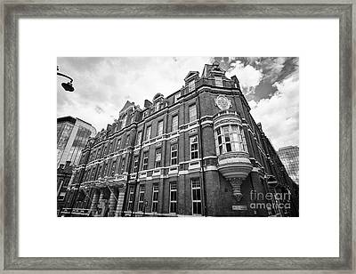 hotel du vin in the former Birmingham and midland eye hospital building UK  Framed Print by Joe Fox