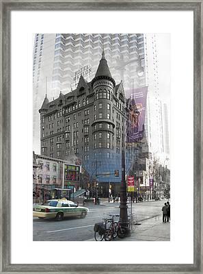 Hotel Walton Framed Print