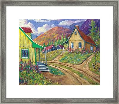 House Of Louis Framed Print by Richard T Pranke