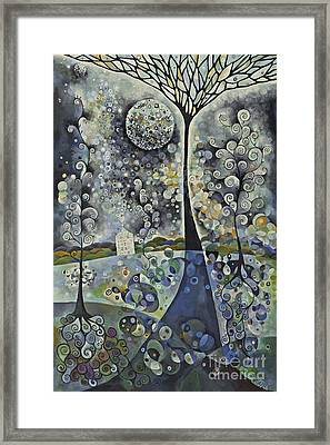 House Of The Moon Framed Print by Manami Lingerfelt