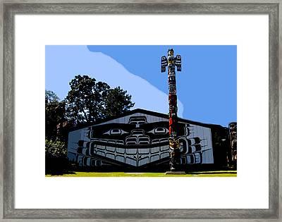 House Of Totem Framed Print