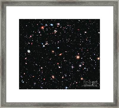 Hubble Extreme Deep Field Framed Print by Nasa