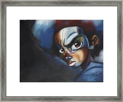 Huey Freeman Framed Print