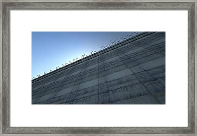 Huge High Security Wall Framed Print by Allan Swart