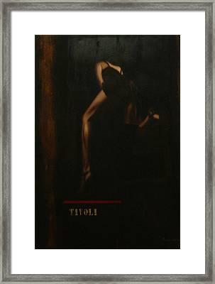 Humanografia 5 Framed Print by Romeo Niram