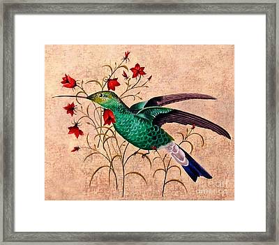 Hummer All Items Framed Print by Herb Strobino