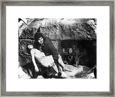 Hunchback Of Notre Dame Framed Print by Granger
