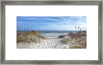 Huntington Beach South Carolina Framed Print