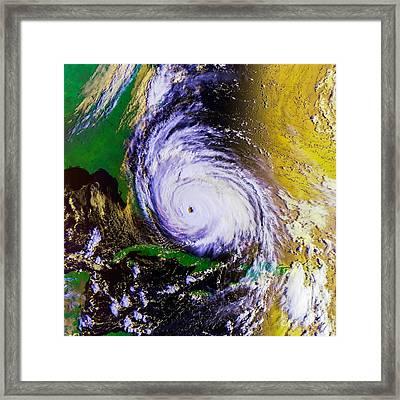 Hurricane Floyd   Framed Print by Jon Neidert