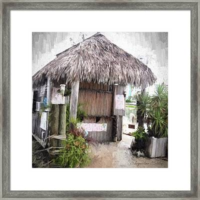 Hut Framed Print
