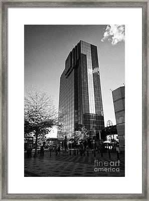 Hyatt Regency Hotel And Centenary Square Birmingham Uk Framed Print by Joe Fox