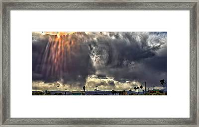 Framed Print featuring the photograph I Am That, I Am by Michael Rogers